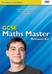 picture of GCSE Maths Master Foundation Revision DVD