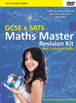 picture of Maths Master Non Calculator Revision DVD